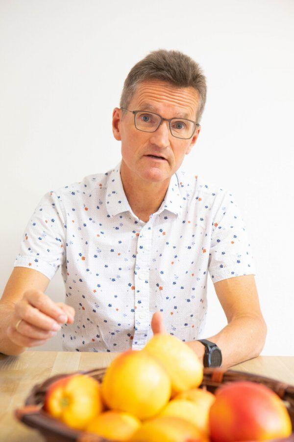 Bernd Klisch, Leiter der Caritas-Flüchtlingshilfe.Klaus Hartinger