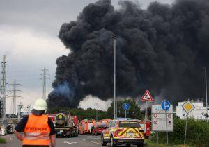 Tödliche Explosion in Chemiewerk