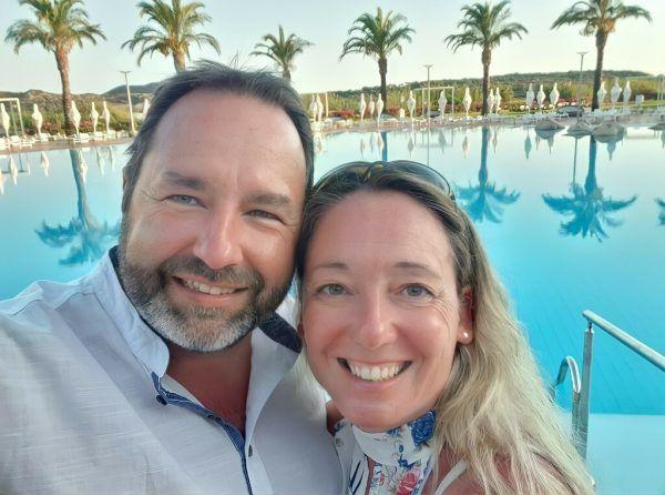 Christian Gußger (49) lernte seine Frau Andrea (48) über eine Dating-Plattform kennen und lieben.Handout
