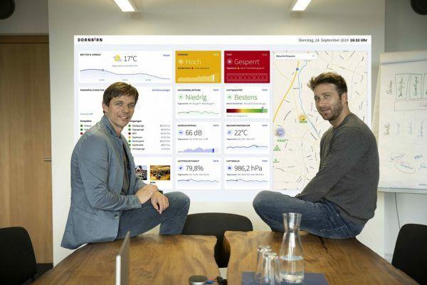 Christoph Klocker (l.) und Christoph Blank sind die geschäftsführenden Gesellschafter des Dornbirner Unternehmens. weavs