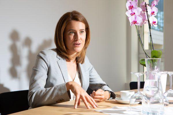 Claudia Gamon ist seit der Europawahl 2019 Neos-Abgeordnete im EU-Parlament.Hartinger