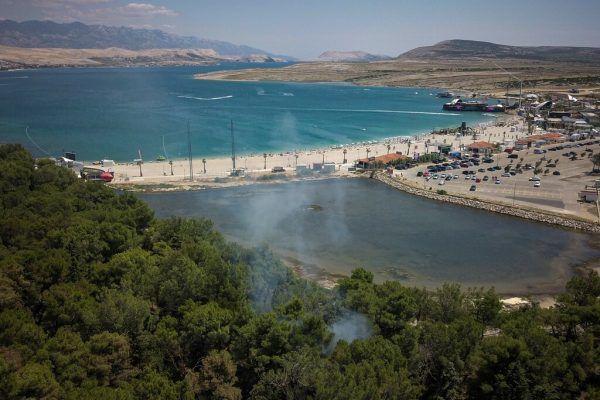 Corona-Cluster nach Beach-Party in Kroatien. AFP