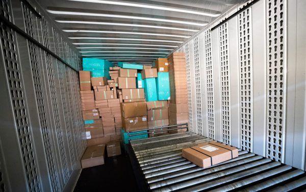 Das Paketvolumen ist im Vorjahr stark angestiegen. APA