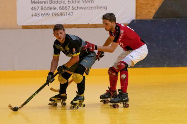Der RHC Dornbirn (l.) schlug in der Finalserie zurück.stiplovsek