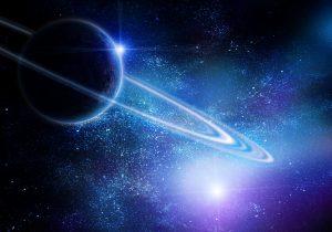 Saturn in Opposition zur Sonne