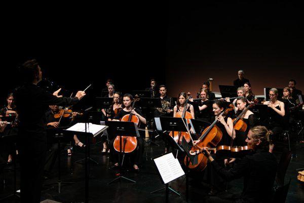 Die Camerata Musica Reno im Konzert. Franziska Hehle