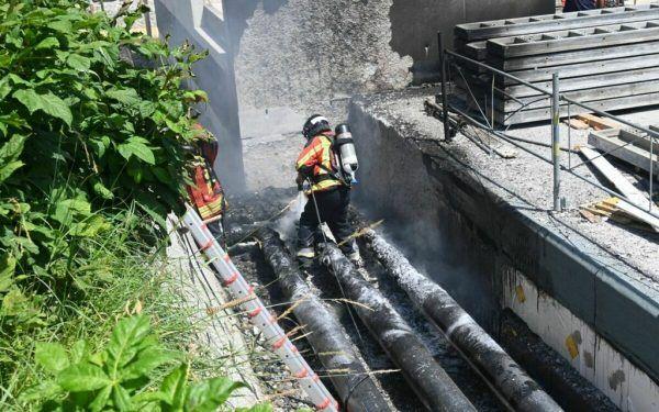 Die Feuerwehr im Einsatz Landespolizei