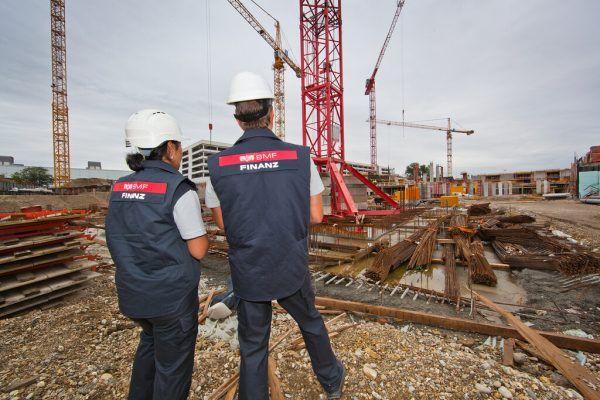 Die Finanzpolizei forcierte 2020 Kontrollen im Baustellenbereich.BMF/citronenrot