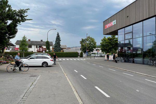 Die Kreuzung wird umgebaut. Stadt Dornbirn
