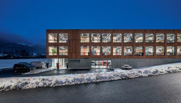 Die neue Kaufmann-Zentrale in Reuthe.Zumtobel (2)