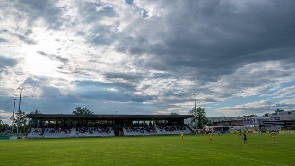 Die neue Sportanlage des FCLauterach im Ried.GEPA/Lerch
