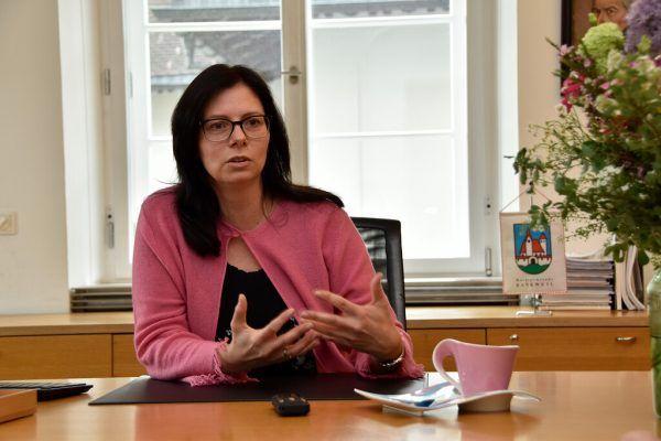 Die Rankweiler Bürgermeisterin Katharina Wöß-Krall.Gemeinde Rankweil