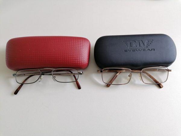 Die sichergestellten Brillen.LPD
