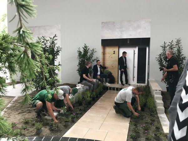 Ein Schwerpunkt der Sommer-IBO liegt auf dem Thema Gartenbau. Dedeleit (2)