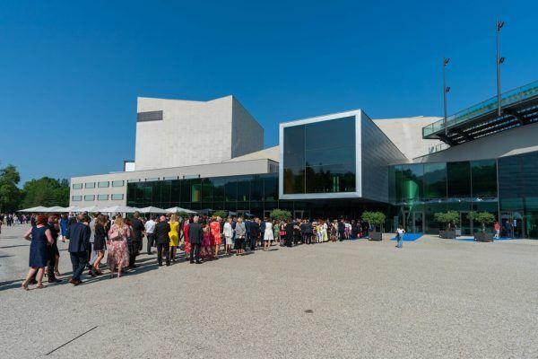 Eröffnung der 75. Bregenzer Festspiele.