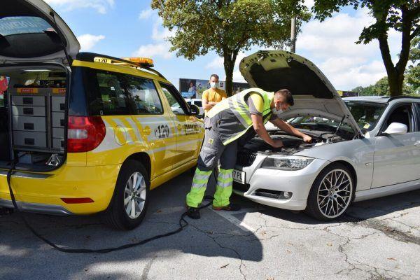 5413 Mal war diesen Sommer in Vorarlberg Pannenhilfe vom ÖAMTC gefragt. ÖAMTC/Gurtner