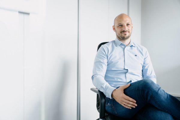 Firmengründer Christopher Schöpf.Martin Schachenhofer