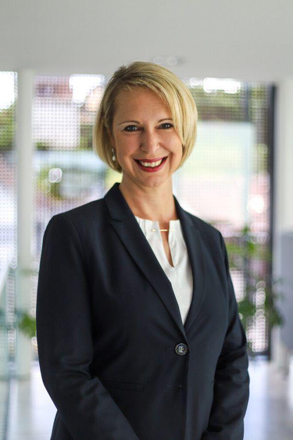 Gina Pallhuber leitet die Volksbank Rankweil. Volksbank