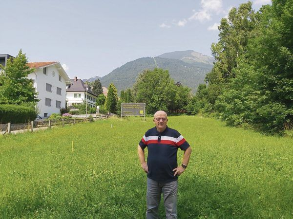Gunther Zierl sieht die dichte Bebauung im Villenviertel kritisch.Neue