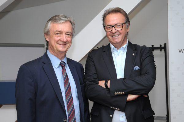 Hubert Bertsch wird neuer Ehrenpräsident der IV. Archiv/NEUE