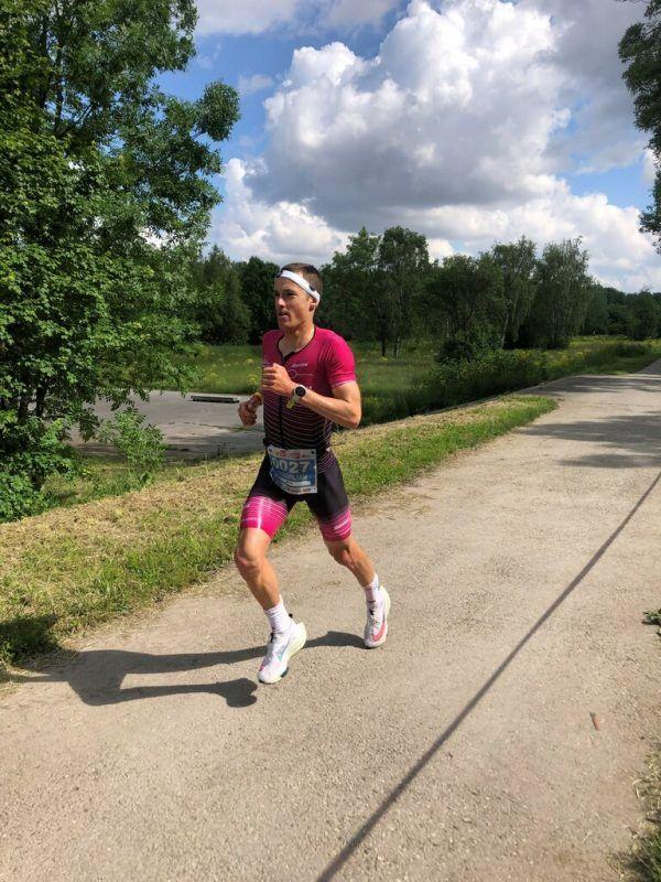Im Marathon konnte der Wolfurter Maximilian Hammerle seine gute Laufform abrufen.privat