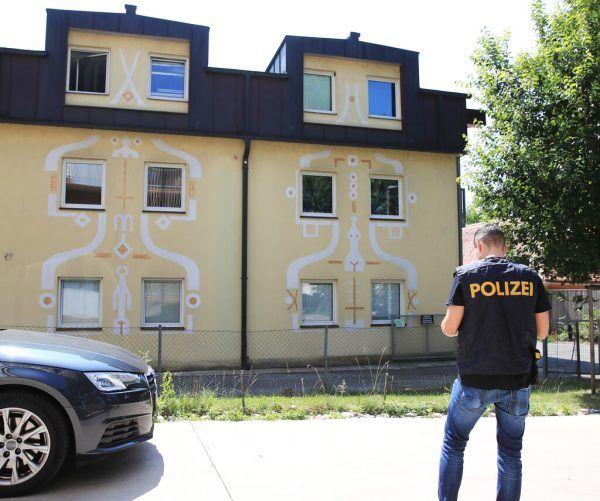 Im zweiten Stock dieses Hauses wurde die Jugendliche gefunden.APA