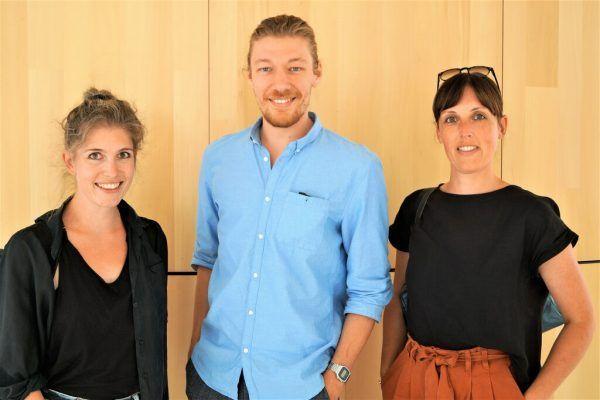 Jasmine Türk, Nikola Bartenbach und Bianca Bachmann vom Kulturbüro Bludenz.