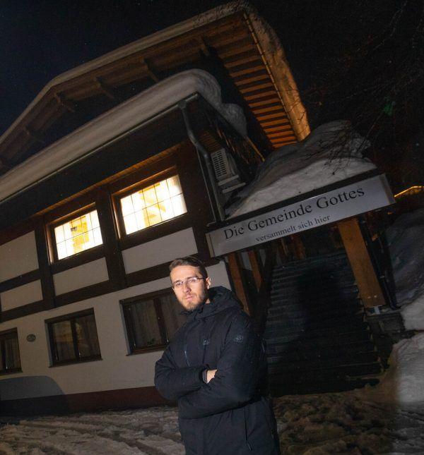 """Jonathan Anselm, Pastor der """"Gemeinde Gottes"""" in Dalaas.Hartinger"""