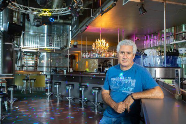 """""""Kali""""-Inhaber Nurali Fidan fühlt sich mit der schwierigen Situation im Stich gelassen.Klaus Hartinger"""