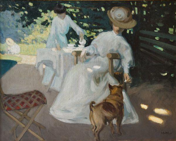 """Martha Stettler, """"Jour d'été"""", um 1907.Privatbesitz"""