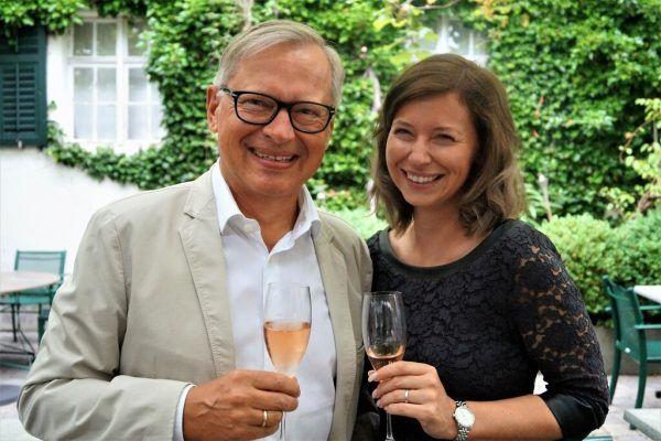 Michael Hollersbacher und Nadja Mauser.