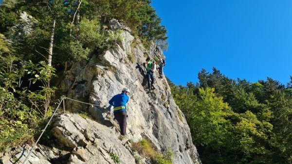 Outdoor-Sportarten liegen bei Jugendlichen im Trend. Sicheres Vorarlberg