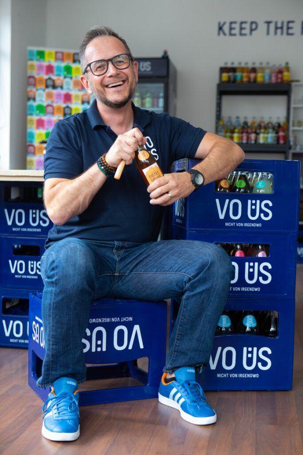 """Philipp Wüstner leitetet Marketing und Vertrieb bei """"VO ÜS""""."""