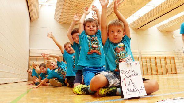 Rund 2000 Kinder sind in diesem Jahr beim Abenteuer Sportcamp.Bauer