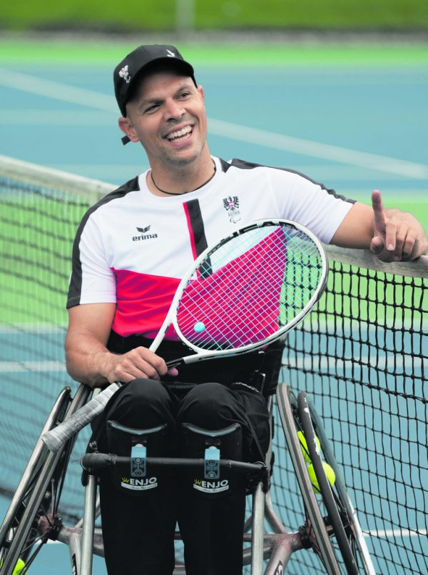 Thomas Flax blickt mit großer Freude auf die Paralympics in Tokio voraus. Dietmar Stiplovsek