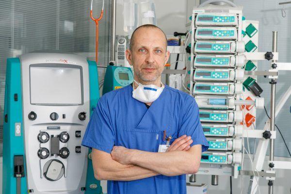Transplantationsbeauftragter Wolfgang List. KHBG