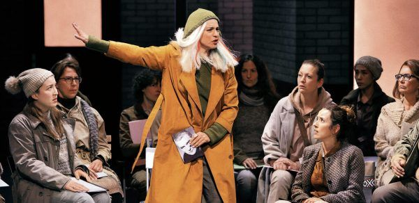 Urgewalt: Asmik Grigorian als Senta. Festspiele bayreuth
