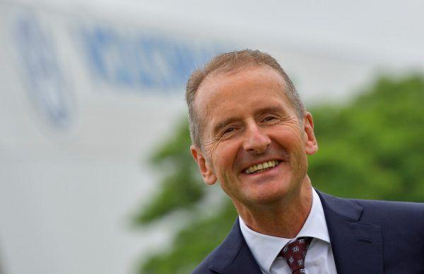 Volkswagen-Chef Herbert Diess.Reuters