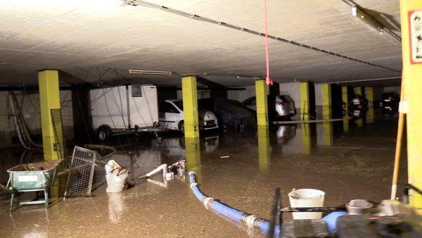 Von den starken Regenfällen in der Nacht auf Sonntag war in Vorarlberg vor allem die Stadt Dornbirn betroffen.Shourot, Feuerwehr Dornbirn