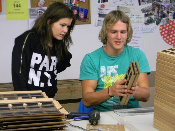 140 Jugendliche, davon 55 Prozent Mädchen, nutzen jährlich die Angebote der Dornbirner Jugendwerkstätten.Dornbirner Jugendwerkstätten