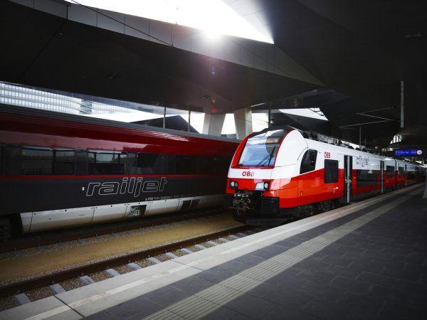 """21 Stück des """"Desiro ML"""" von Siemens wurden für Vorarlberg bestellt. In anderen Bundesländern ist der Zugtyp bereits seit 2015 im Einsatz.ÖBB/Philipp Horak (3)"""