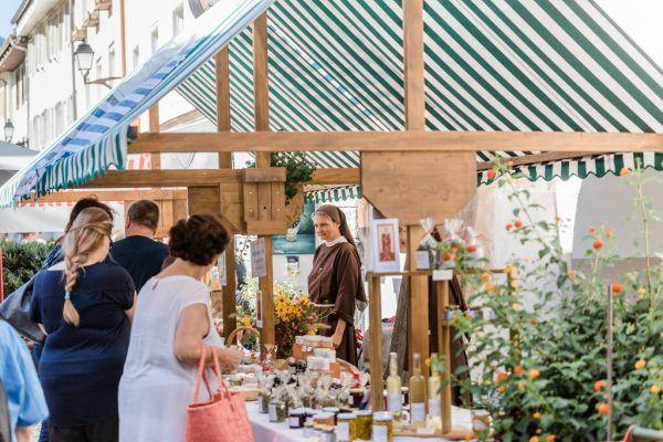 Anfang September ist wieder Klostermarkt in Bludenz. Hefti