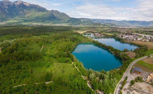 Bei den Paspels-Seen in Feldkirch will dieAgrargemeinschaft Altenstadt auf einerFläche von 40 Hektar Kies abbauen und Aushubmaterial deponieren.hartinger