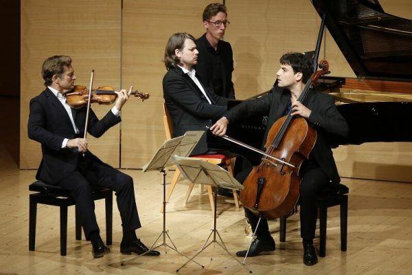 Beim Konzert. Schubertiade