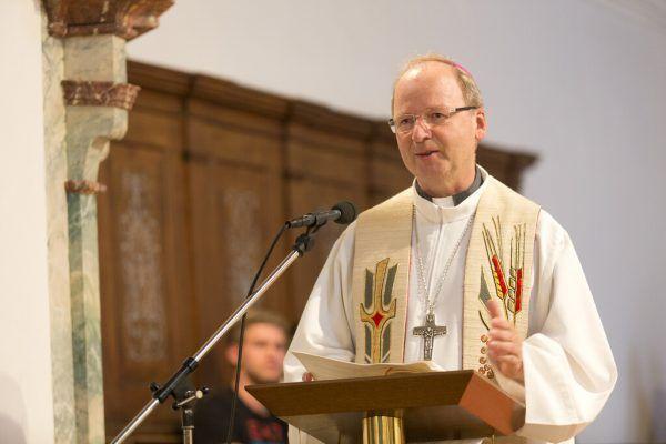 Bischof Benno Elbs eröffnet die Gebhardswoche.Mathis