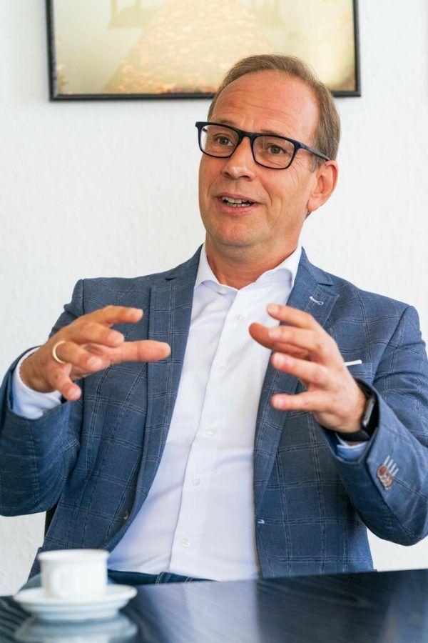 Bürgermeister Dieter Egger hält wenig von Parteipolitik auf der Gemeindeebene.Dietmar Stiplovsek (3)