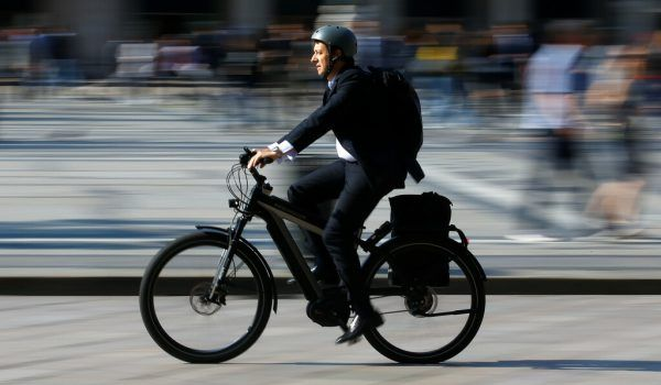 Dank Steuerreform: Firmenrad statt Firmenauto.Reuters