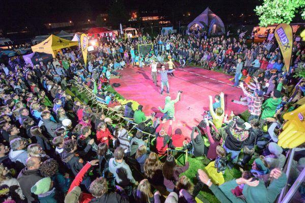 Das Freakwave Festival wird zur Parade.Matthias Rhomberg