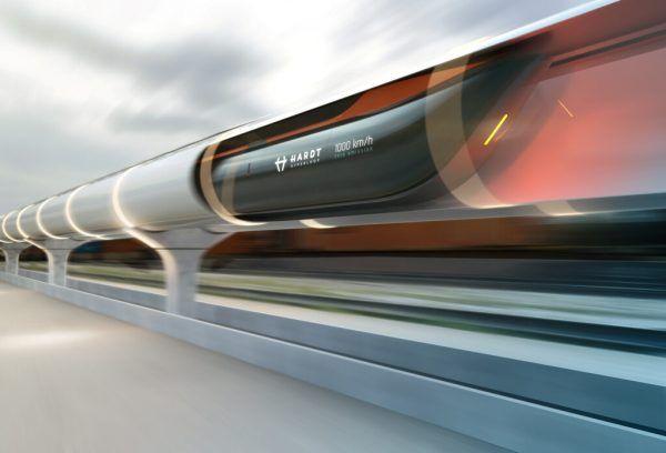 Der Hyperloop soll Reisen und Transport revolutionieren. Plompmozes/Hardt Hyperloop/via REUTERS