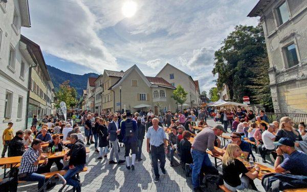 Die Innenstadt müsste abgesperrt werden.Stadt Hohenems